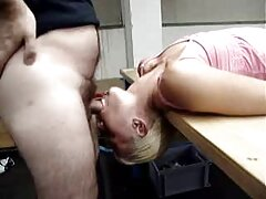 Travesti Maid Nicollie Pantoha shit pono en español latino on her ass by horny boss, she also cleanup.